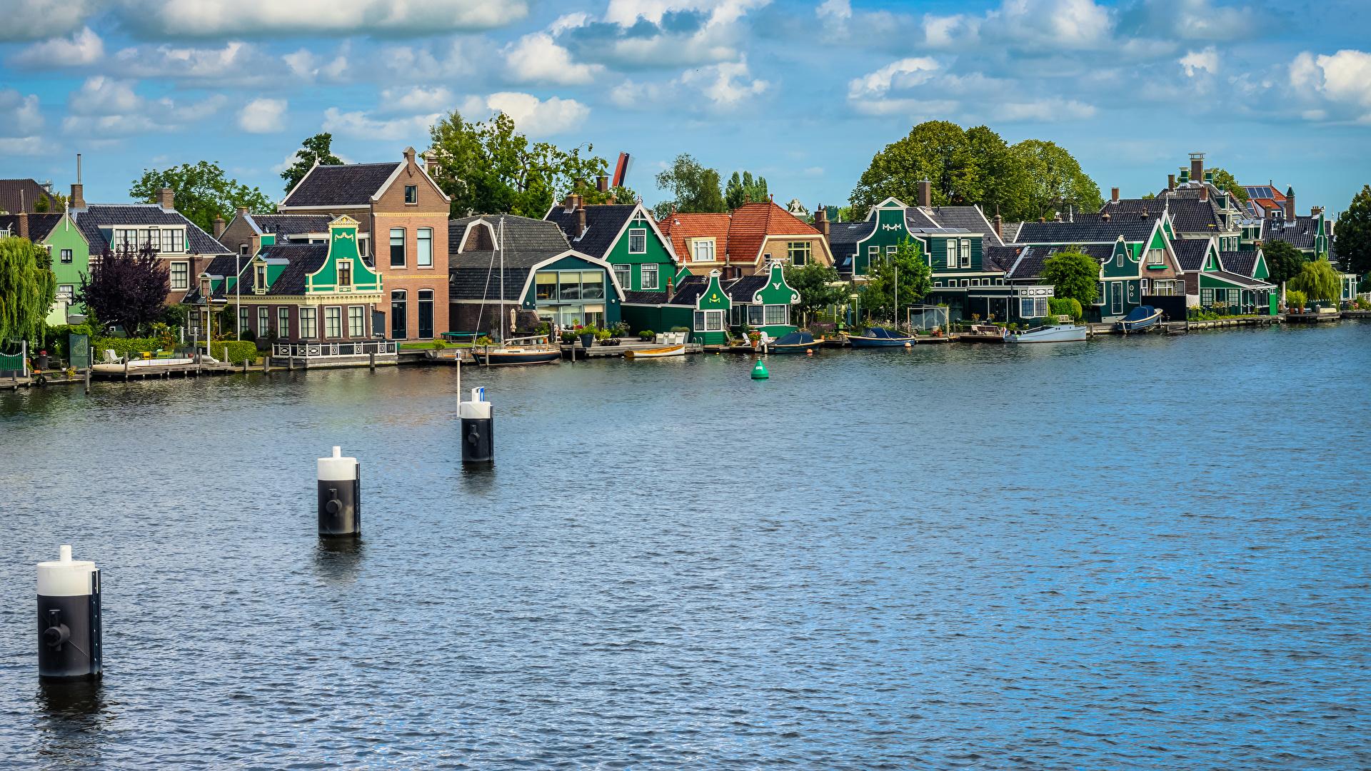 Netherlands_Houses_Rivers_Marinas_Zaanse_Schans_530898_1920x1080